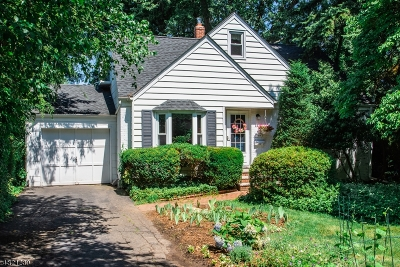 Glen Rock Boro Single Family Home For Sale: 139 Midwood Rd