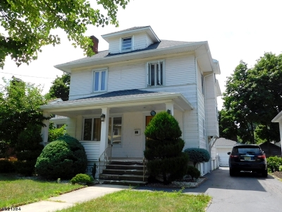 Clifton City Single Family Home For Sale: 27 Lincoln Ave