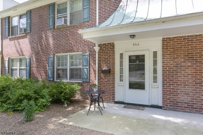 Bernardsville Boro Condo/Townhouse For Sale: 84a Anderson Hill Rd