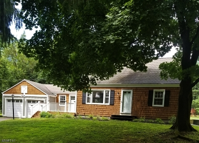 Bridgewater Twp. Single Family Home For Sale: 255 Van Holten Rd