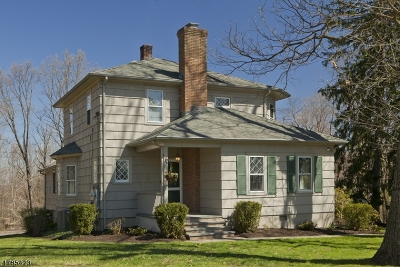 Long Hill Twp Single Family Home For Sale: 1122 Long Hill Rd