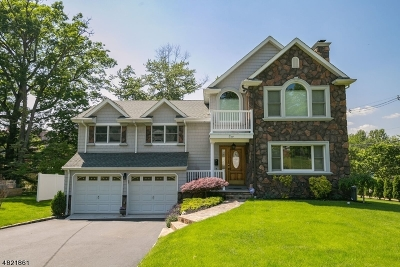 Morristown Town, Morris Twp. Single Family Home For Sale: 1 Randolph Dr