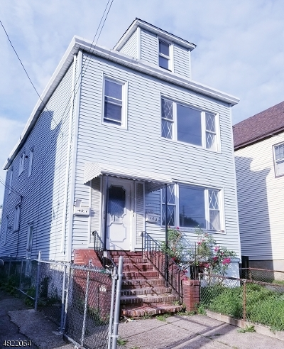 Passaic City Multi Family Home For Sale: 480 Gregory Ave
