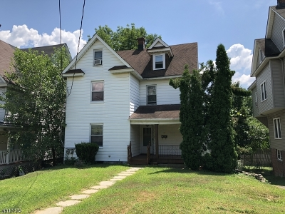 Morristown Town, Morris Twp. Single Family Home For Sale: 41 Ridgedale Ave