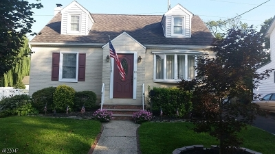 Cranford Twp. Single Family Home For Sale: 131 N Lehigh Ave