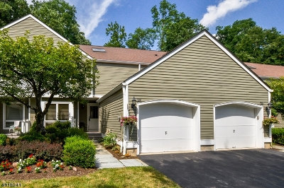 Morristown Town, Morris Twp. Condo/Townhouse For Sale: 28 Nottingham Ct