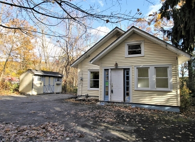 High Bridge Boro Single Family Home For Sale: 144 Fairview Ave