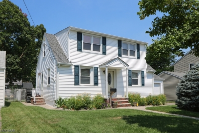 Clifton City Single Family Home For Sale: 20 Emerson St