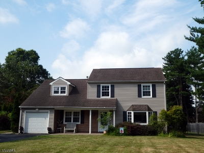 Franklin Twp. NJ Single Family Home For Sale: $375,000