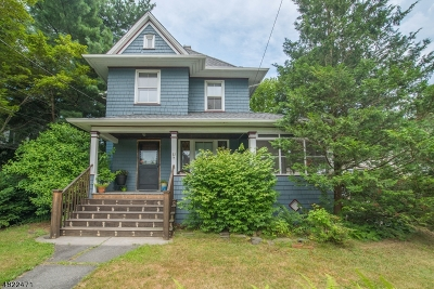 Nutley Twp. NJ Single Family Home For Sale: $324,990