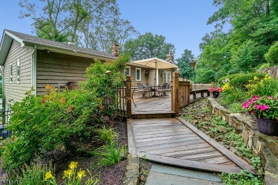 Morris Twp. Single Family Home For Sale: 31 Conklin Ave