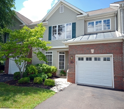 Bridgewater Twp. Condo/Townhouse For Sale: 23 Chamberlin Way