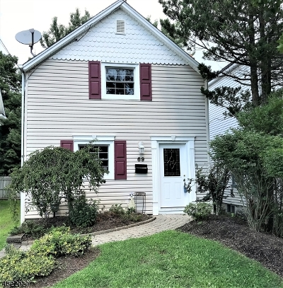 Roxbury Twp. Single Family Home For Sale: 69 Main St Succ