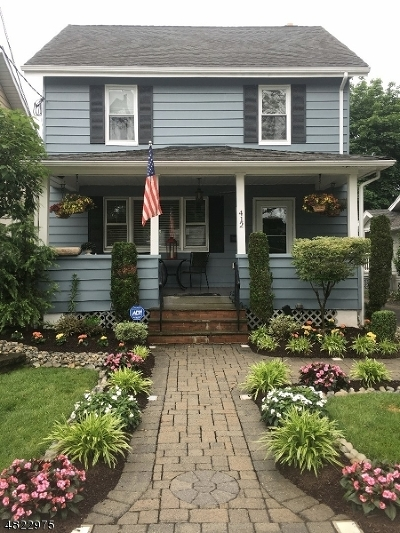 Scotch Plains Twp. Single Family Home For Sale: 412 Flanders Ave
