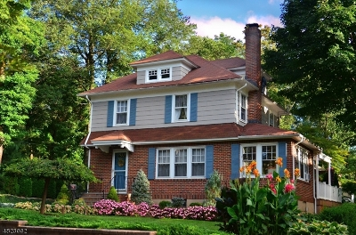 Bernardsville Boro Single Family Home For Sale: 12 Bernards Ave