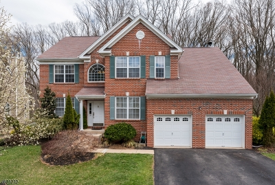 Franklin Twp. Single Family Home For Sale: 24 Woodfield Ct