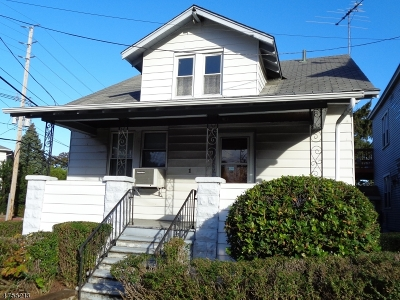Paterson City Single Family Home For Sale: 1 Knickerbocker Ave