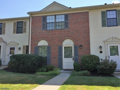 Bernards Twp. NJ Condo/Townhouse For Sale: $339,900