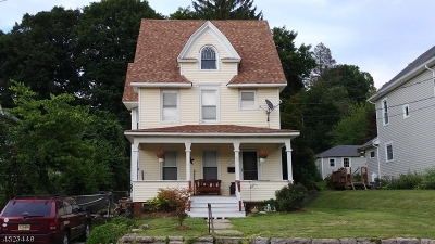 Franklin Boro Single Family Home For Sale: 72 Church St