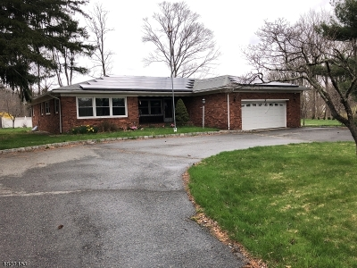 Roxbury Twp. Single Family Home For Sale: 60 S Hillside Ave