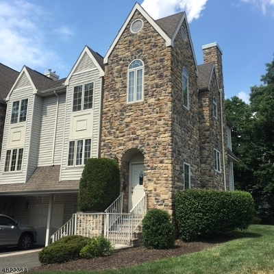 Berkeley Heights Condo/Townhouse For Sale: 1 Daisy Rd