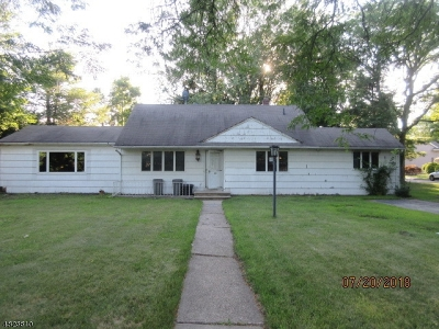 Wayne Twp. Single Family Home Active Under Contract: 707 Valley Rd