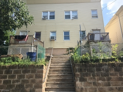 Passaic City Multi Family Home For Sale: 177 Summer St