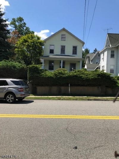 Boonton Town Single Family Home For Sale: 405 Washington St