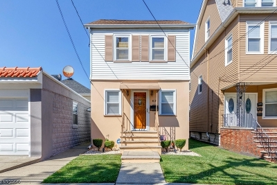 Kearny Town Single Family Home For Sale: 61-63 Quincy Ave