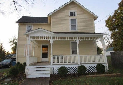 Tewksbury Twp. Single Family Home For Sale: 19 Church St