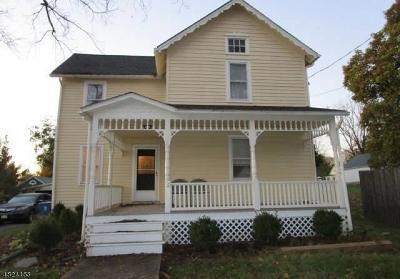 Califon Boro, Tewksbury Twp. Single Family Home For Sale: 19 Church St