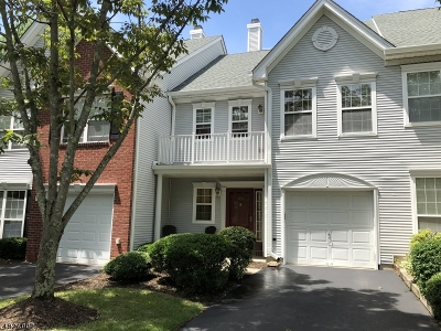 Readington Twp. Condo/Townhouse For Sale: 408 Spring House Dr