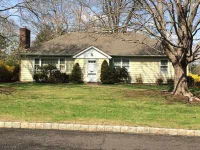 Bernards Twp. NJ Single Family Home For Sale: $549,999