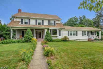 Morristown Single Family Home For Sale: 122 Washington Ave