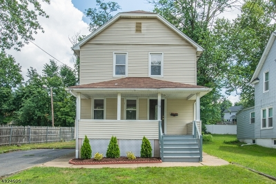 West Caldwell Twp. Single Family Home For Sale: 10 Melrose Pl