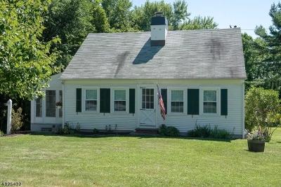 Califon Boro, Tewksbury Twp. Single Family Home For Sale: 10 Old Turnpike Rd