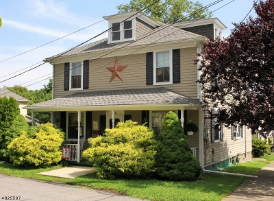 Alpha Boro NJ Single Family Home Sold: $165,000