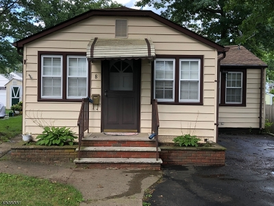 Parsippany-Troy Hills Twp. Single Family Home For Sale: 8 Eldora Rd