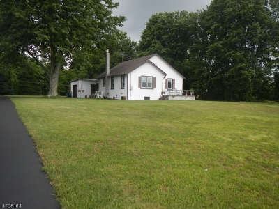 Mount Olive Twp. Single Family Home For Sale: 482 Route 46
