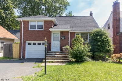 Roselle Park Boro Single Family Home For Sale: 531 Myrtle Ave