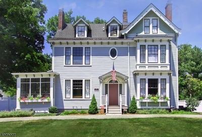 Morristown Single Family Home For Sale: 50 Morris Ave