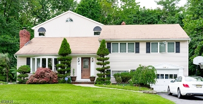 West Caldwell Twp. Single Family Home For Sale: 23 Knoll Ter