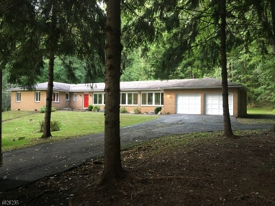 Harding Twp. Rental For Rent: 31 Post House Rd