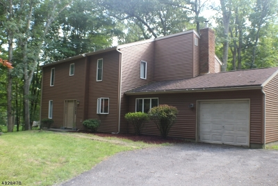 Stillwater Twp. Single Family Home For Sale: 907 Fairview Lake Rd