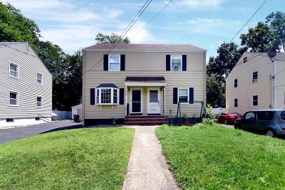 Westfield Town NJ Single Family Home For Sale: $315,000