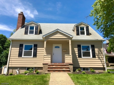Morristown Town, Morris Twp. Single Family Home For Sale: 56 Mills St