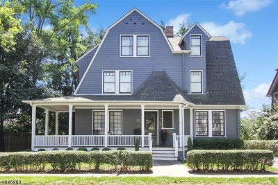 Morristown Single Family Home For Sale: 17 Franklin St