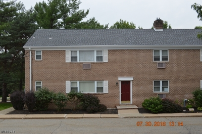 Parsippany Condo/Townhouse For Sale: 2467 Route 10 Apt 1a #1A