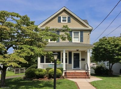 Cranford Twp. Single Family Home For Sale: 99 Bloomingdale Ave