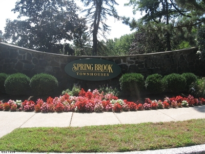Morristown Town, Morris Twp. Condo/Townhouse For Sale: 20 Keats Way